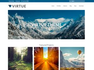 Thème Virtue