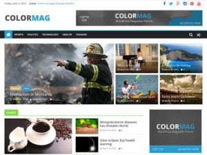 Thème Colormag